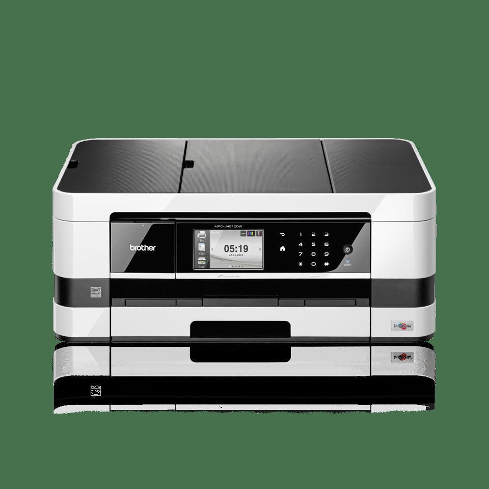 MFC-J4510DW All-in-One Inkjet Printer + Duplex, Fax and Wireless 2