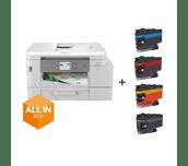 MFC-J4540DWXL - Imprimante jet d'encre multifonction couleur 4-en-1 All in Box pour le télétravail