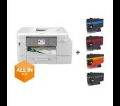 MFCJ4540DWXL - All in Boks A4 multifunksjon farge blekkskriver
