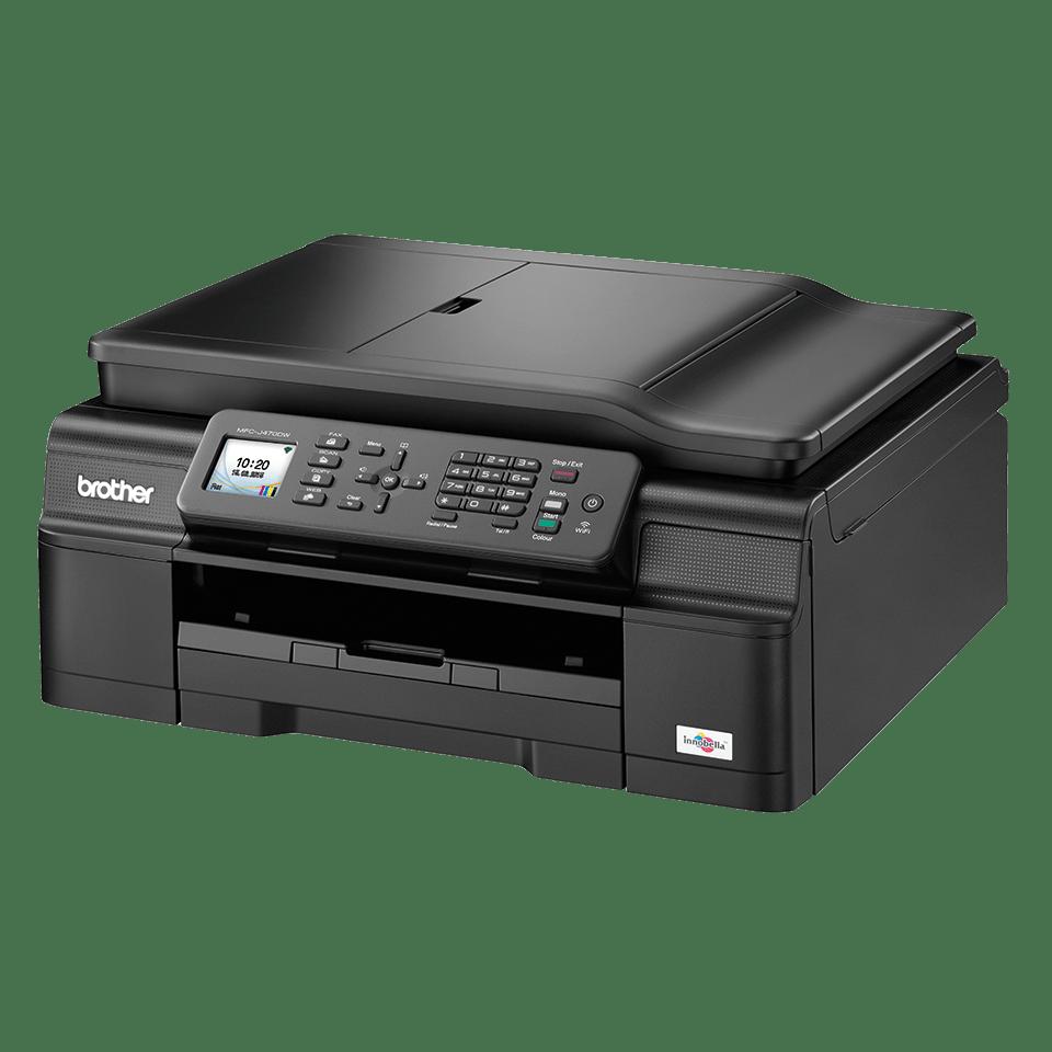 MFC-J470DW All-in-One Inkjet Printer + Duplex, Fax and Wireless
