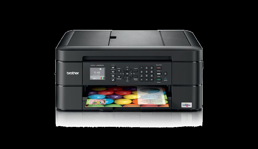 Impressora Multifunções Tinta Mfc J480dw Brother