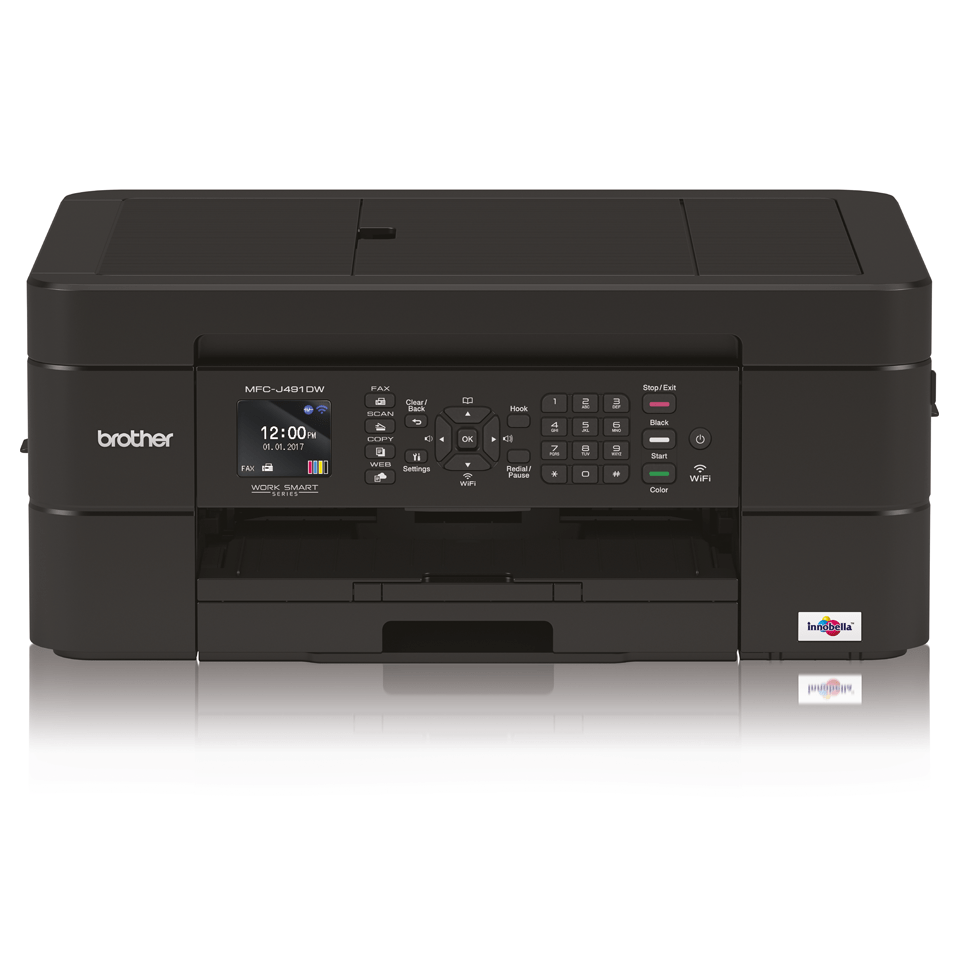 Impresora multifunción tinta MFC-J491DW Brother