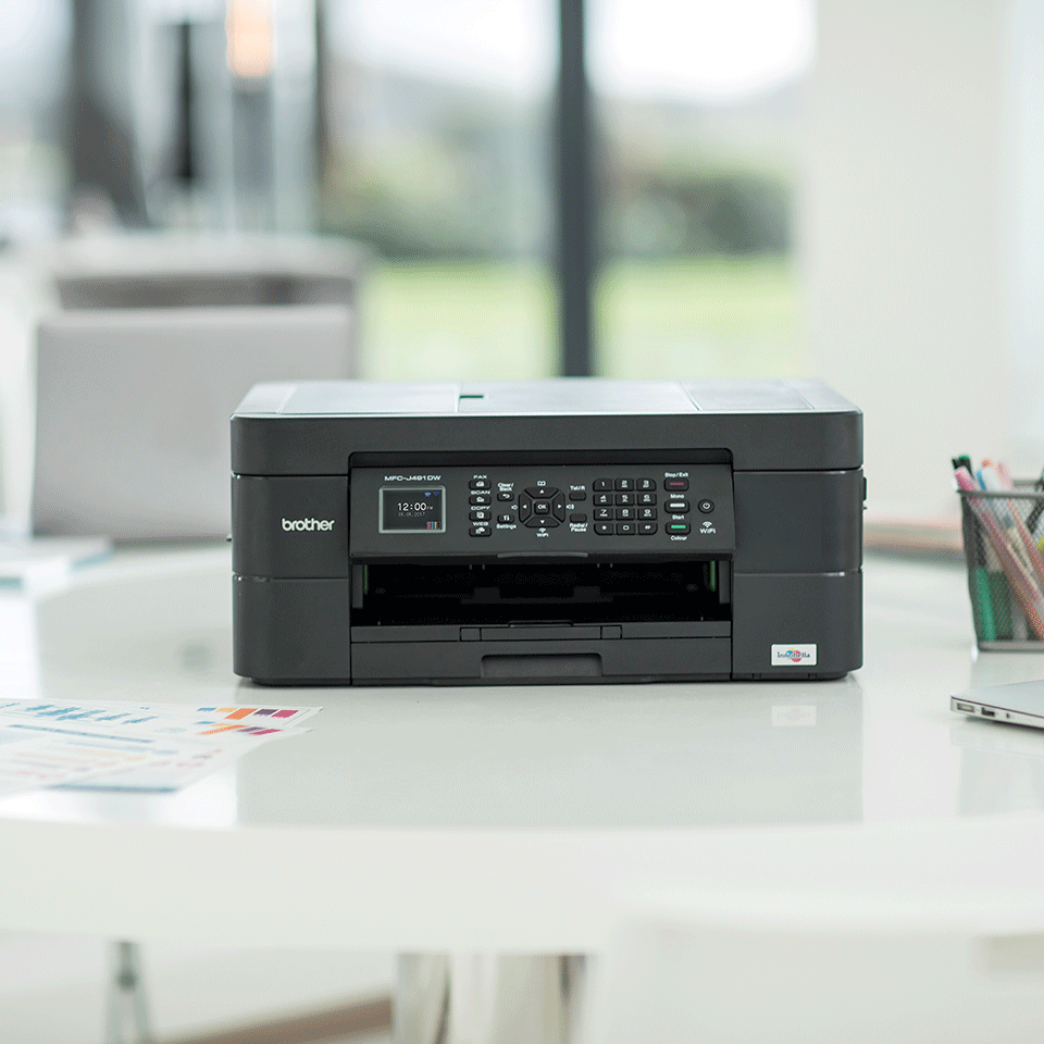 MFC-J491DW A4 all-in-one inkjetprinter 3