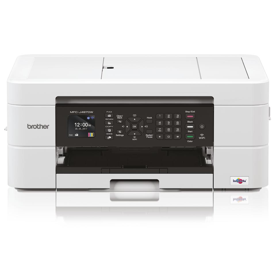MFC-J497DW Wireless 4-in-1 Inkjet Printer 7