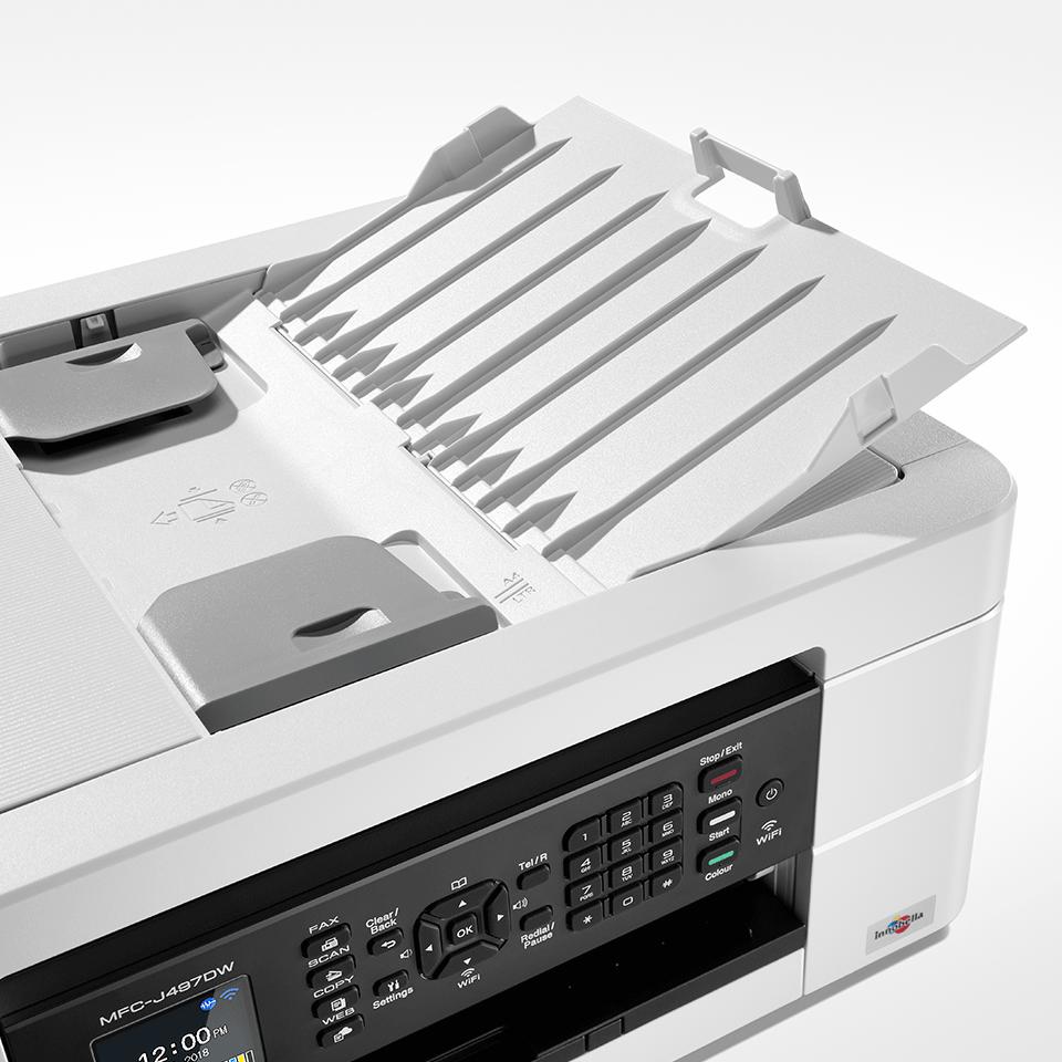 MFC-J497DW er en alt-i-én inkjetprinter med trådløst netkort 5