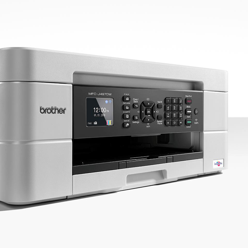 MFC-J497DW er en alt-i-én inkjetprinter med trådløst netkort 6