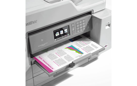 MFC-J5945DW Trådlös  allt-i-ettbläckstråleskrivare i färg för A3 5