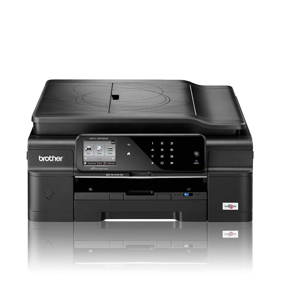 MFC-J870DW All-in-One Inkjet Printer + Duplex, Fax, NFC and Wireless 3