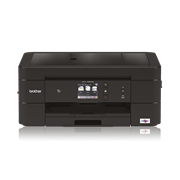 Black inkjet printer facing straight ahead - MFCJ890DW