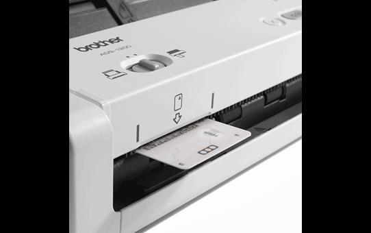 Brother ADS1200 mobil og kompakt dokument skanner 6