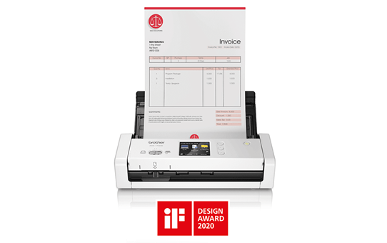 ADS-1700W smart og kompakt dokumentscanner 4