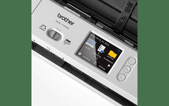ADS-1700W scanner compact WiFi pour le petit bureau 8