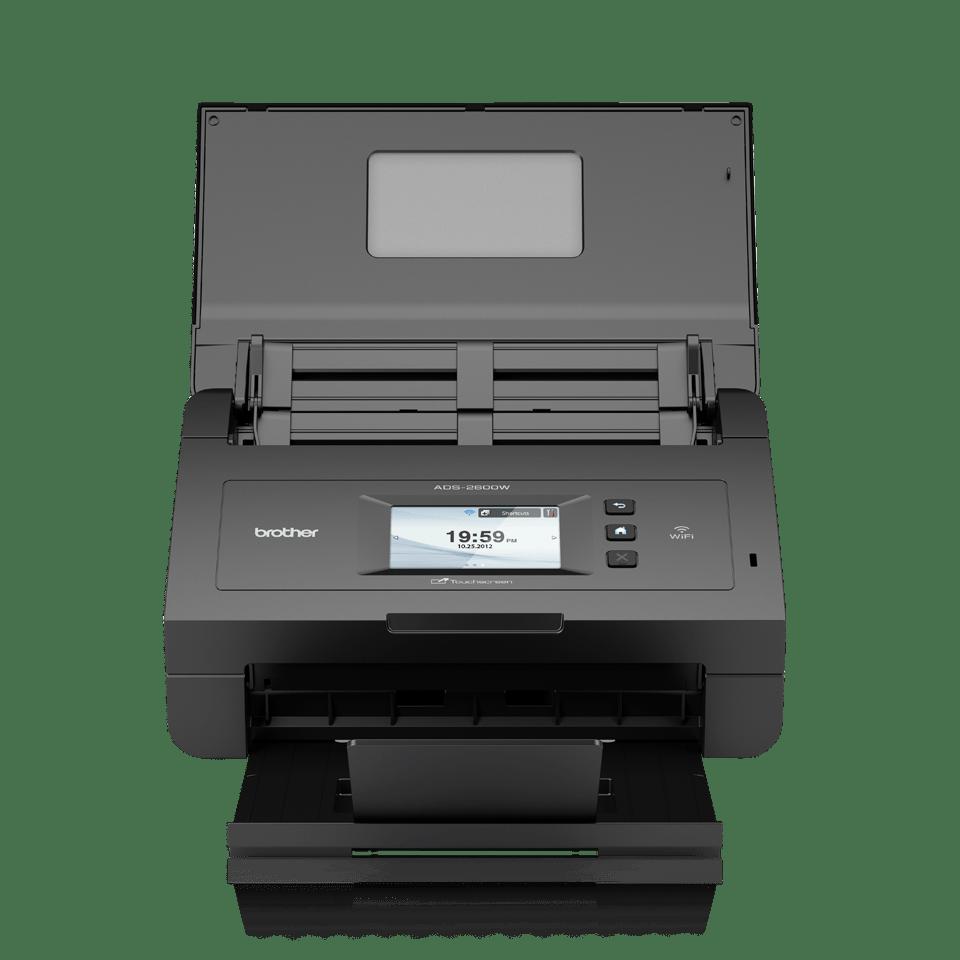 ADS-2600W High-Speed Desktop Scanner + Wireless 4