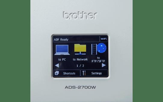 Brother ADS-2700W belaidis, jungiamas į tinklą stalinis dokumentų skaitytuvas 7