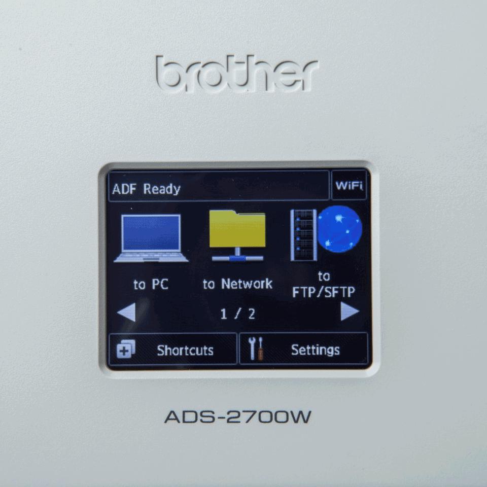 ADS-2700W scanner de bureau 7