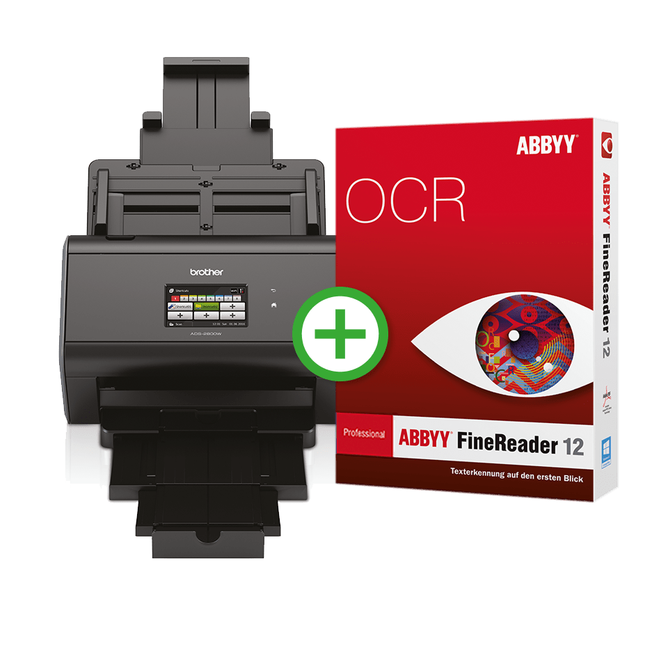 ADS-2800W FineReader Professional Edition 2