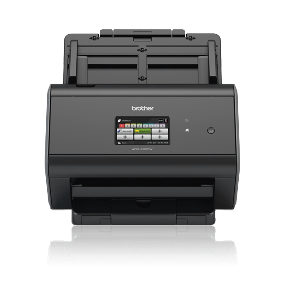 ADS-2800W scanner - vist forfra