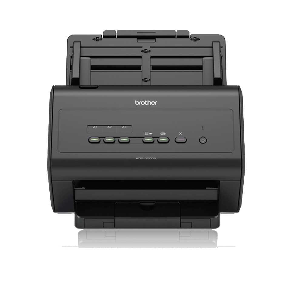Brother ADS3000N dokumentscanner front