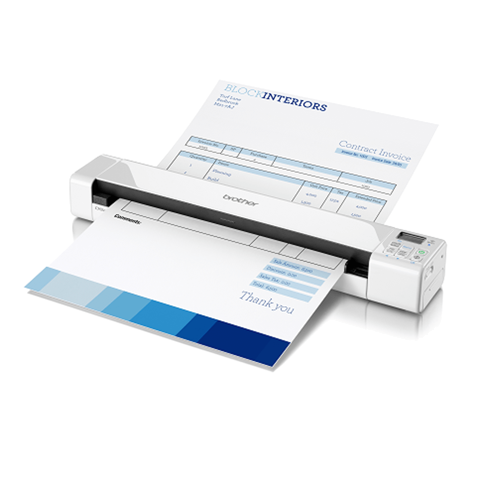 DS-820W scanner portable