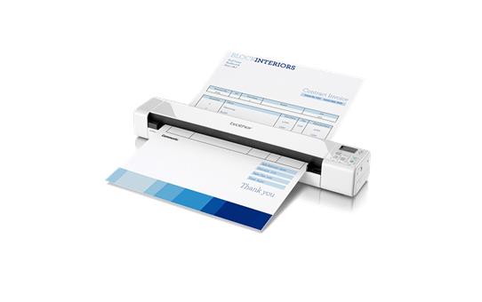 DS-820W Portable Document Scanner + Wireless