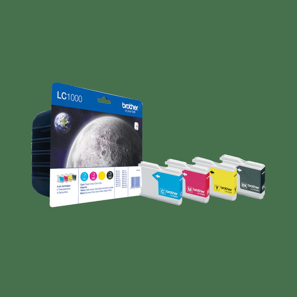 Pack de 4 cartuchos de tinta Innobella™ LC1000VALBP