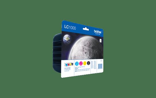 Original Brother LC-1000 Value Pack 2