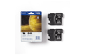 Genuine Brother LC1100BKBP2 Ink Cartridge Twin Pack - Black 3