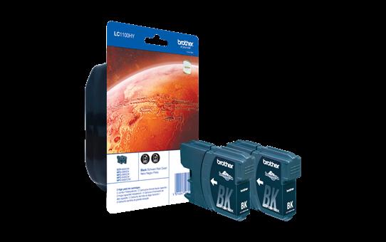 LC-1100HYBKBP2 pack de cartouches d'encre - 2x noir