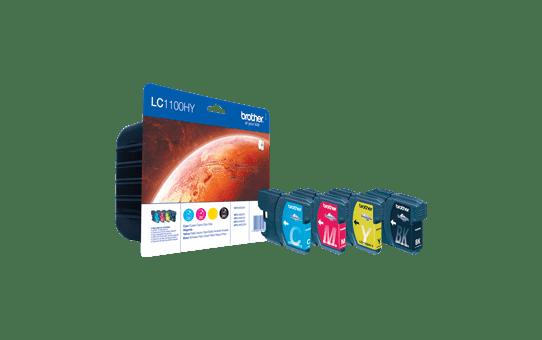 LC-1100HYVALBP pack de cartouches d'encre - cyan, magenta, jaune et noir