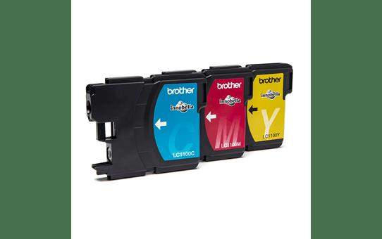 Originele Brother LC-1100RBWBP inktcartridge voordeelverpakking 2