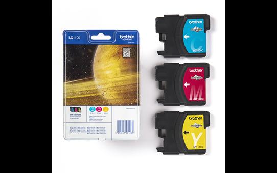 Originele Brother LC-1100RBWBP inktcartridge voordeelverpakking 3