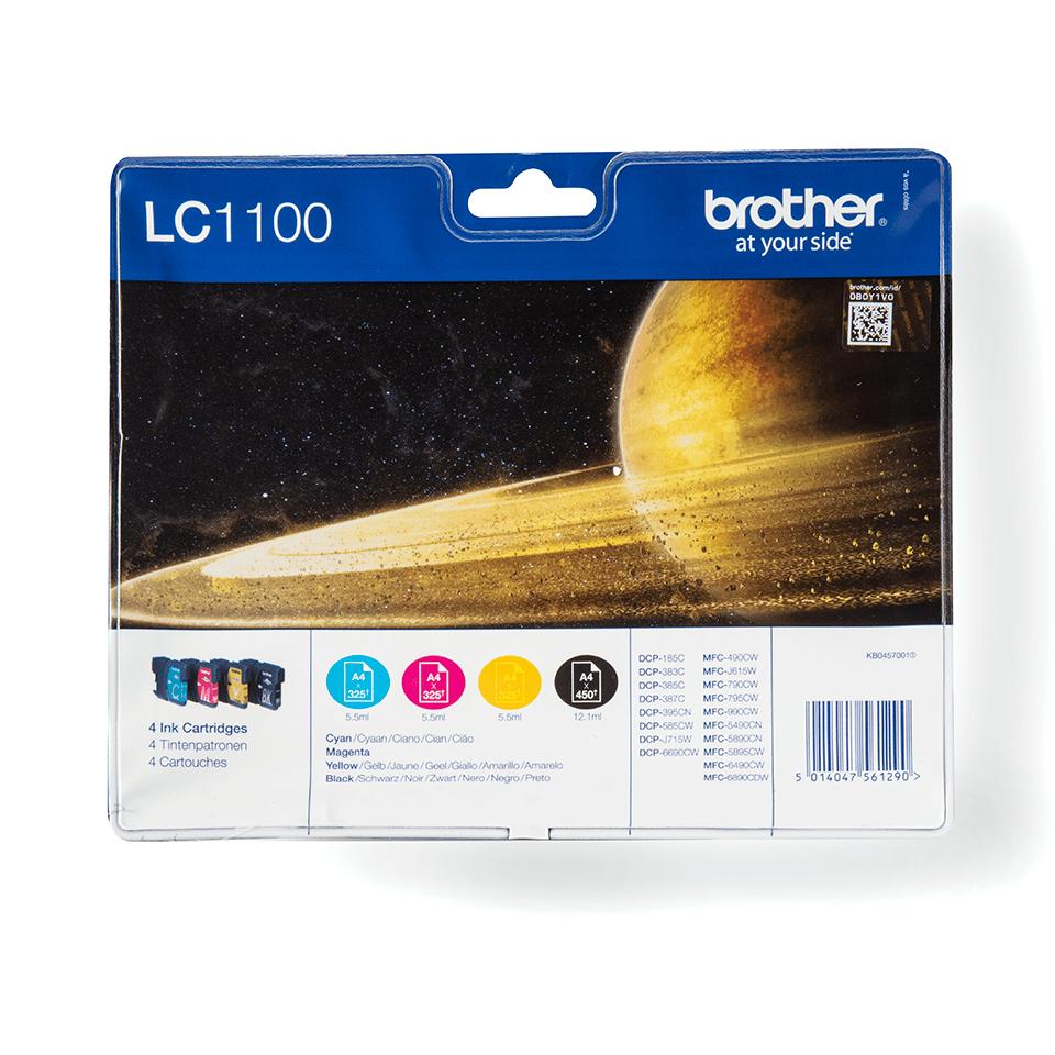 Originalna Brother LC1100VALBP kartuša - paket