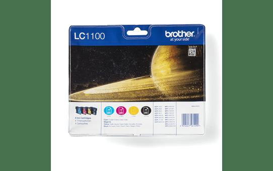 Brother LC1100VALBP inktpatronen pack - cyaan, magenta, geel en zwart