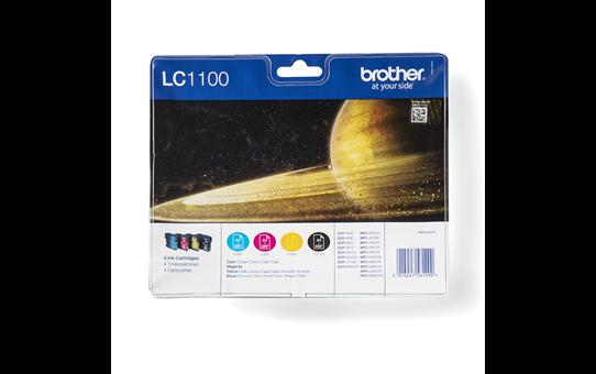 Genuine Brother LC1100VALBP Ink Cartridge Multipack