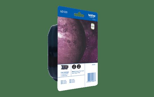 Brother LC1220BKBP2 inktpatronen pack - 2x zwart