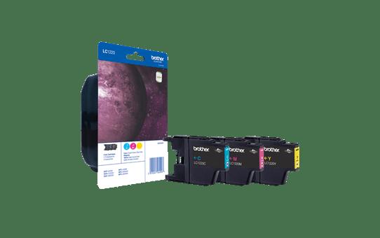 Original Brother LC-1220 Rainbow Pack