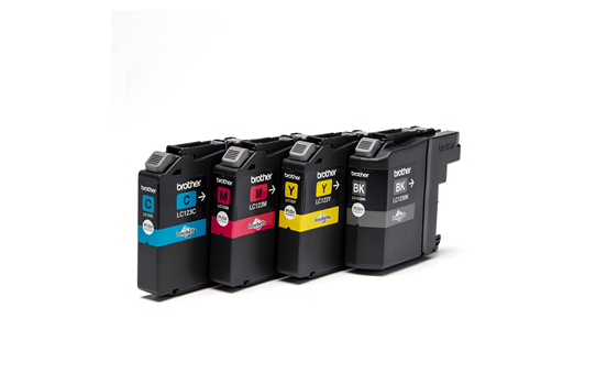 Genuine Brother LC123VALBP Ink Cartridge Multipack 2