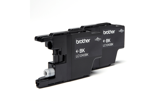 Brother LC1240BKBP2 inktpatronen pack - 2x zwart 2