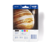 Genuine Brother LC1240RBWBP Ink Cartridge Rainbow Blister Pack