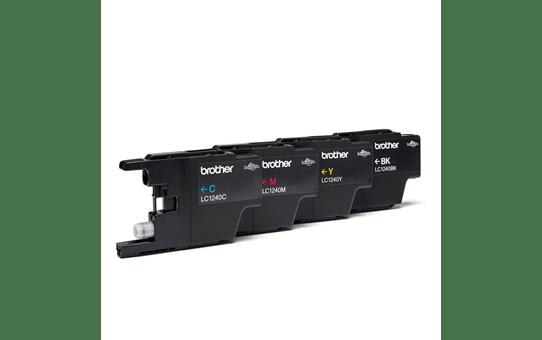 Genuine Brother LC1240 Ink Cartridge Multipack - LC1240VALBP 2