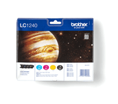 LC1240VALBP Brother genuine ink cartridge multi pack front image