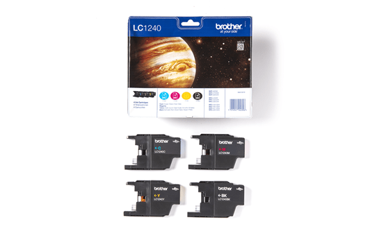 Eredeti Brother LC1240VALBP tintapatron - multipack csomag 3