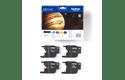 Originele Brother LC-1240VALBP inktcartridge voordeelverpakking  3