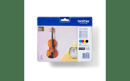 Genuine Brother LC127XLVALBP High Yield Ink Cartridge Multipack