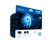 Original Brother LC-1280XL-BK Twin Pack
