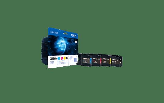 Brother LC1280XLVALBP Confezione 4 cartucce inkjet XL originali