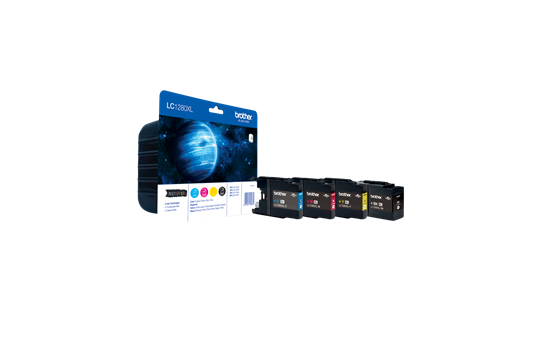 Original LC-1280XLVALBP High Yield Tintenpatronen von Brother – Multipack