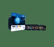 Oryginalny zestaw wysokowydajnych tuszy Brother LC-1280XLVALBP