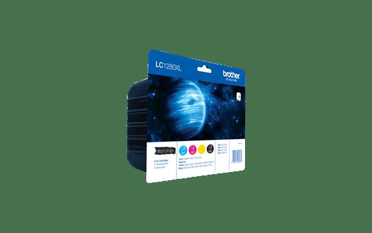 Originalna Brother LC1280XLVALBP velika kartuša - paket 2