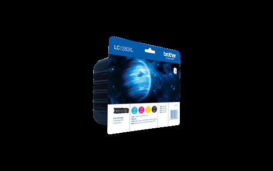 Original LC-1280XLVALBP High Yield Tintenpatronen von Brother – Multipack  2
